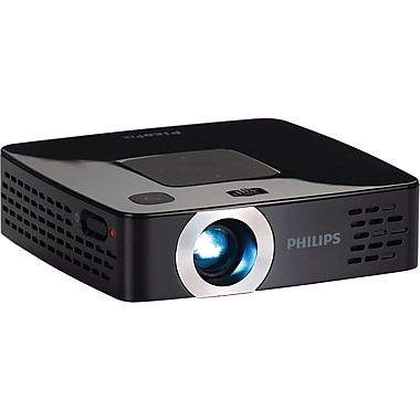 Philips PicoPix PPX2495/F7 Pocket DLP Projector, 100 Lumens