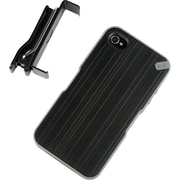 PureGear® The Utilitarian Carrying Case For iPhone 4/4S, Black