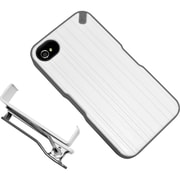 PureGear® The Utilitarian Carrying Case For iPhone 4/4S, White