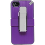PureGear® The Utilitarian Carrying Case For iPhone 4/4S, Purple