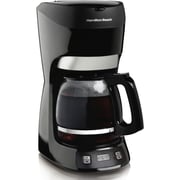 Hamilton Beach® 49467 12 Cup Coffeemaker With Digital Clock, Black