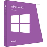 Microsoft® Software License, 1 User, Windows 8.1 64-bit, Disk (WN7-00615)