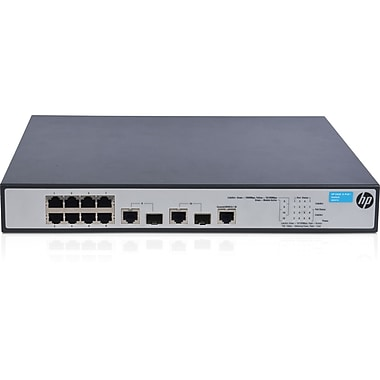 HP® 1910 Series 8 Port PoE+ Ethernet Switch