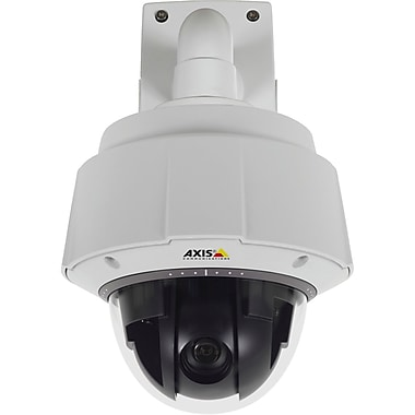Axis® Q6044-E 1/3in. CCD Outdoor PTZ Dome Network Camera