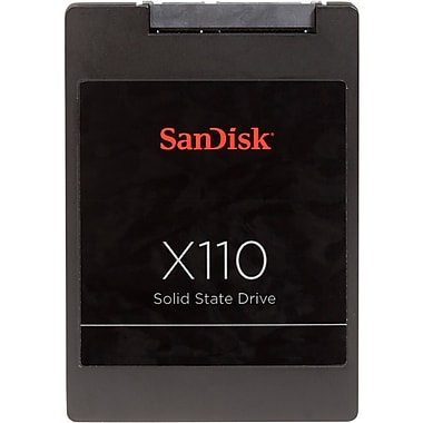 SanDisk® X110 64GB 2.5in. mini-SATA Internal Solid State Drive