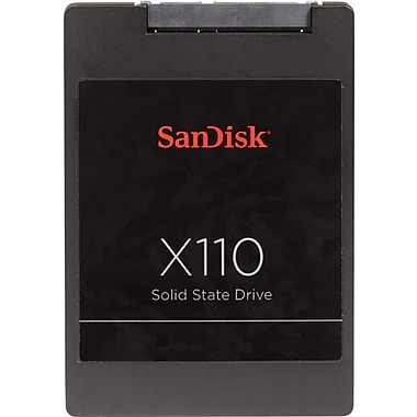 SanDisk® X110 256GB 2.5in. mini-SATA Internal Solid State Drive