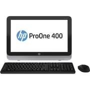 HP® Smart Buy ProOne 400 G1 19.5 HD+ LED All-in-One Desktop PC, Intel i3 i3-4330T 3 GHz Dual Core