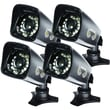 Night Owl CAM-4PK-DM724 1/3in. CMOS Indoor/Outdoor Security Camera
