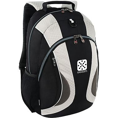 Wenger® MERCURY DX 16in. Laptop Backpack, Gray