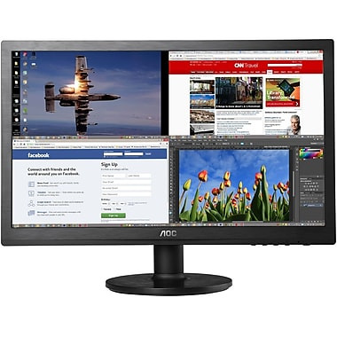 AOC® E2060SWDA 20in. HD+ Widescreen LED-LCD Monitor