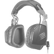 Mad Catz® F.R.E.Q. 4D Over-The-Head Stereo Gaming Headset, Black