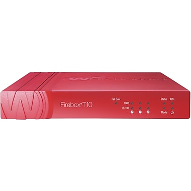 WatchGuard® Firebox T10 Network Security/Firewall Appliance With 3 Year Live Security