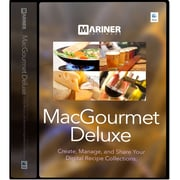 Mariner Software MacGourmet v.4.0 Deluxe Software, Mac, DVD