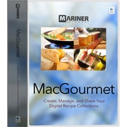 Mariner Software MacGourmet v.4.0 Software, Mac, DVD