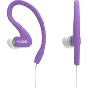 Koss® FitClips Over-The-Ear Ultra Ligthweight Sweat Resitant Earphone, Purple
