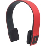 Manhattan® Over-The-Head Freestyle Wireless Headphone, Red