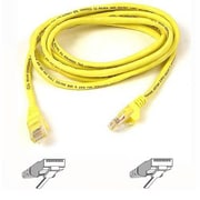 Belkin™ 50' Cat5e RJ45 Male/Male Patch Cable, Yellow