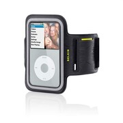 Belkin® DualFit Armband For Apple iPod Classic 4G, Black