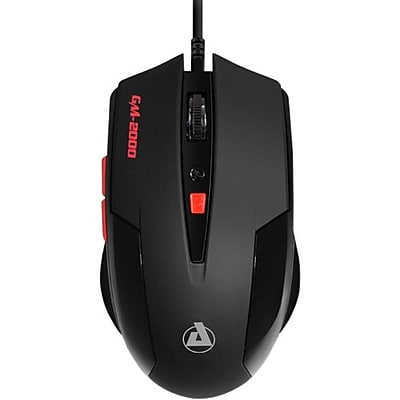 Aluratek AGM2000 Levetron USB Wired Optical Gaming Mouse