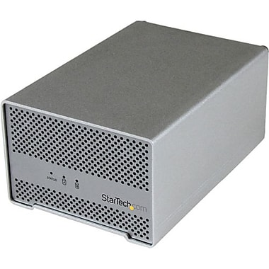 Startech.com® Dual Bay 2.5in. ThunderBolt HDD Enclosure With Cooling Fan