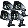 Night Owl CAM-4PK-724 1/3in. CMOS Indoor/Outdoor Security Camera