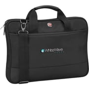 Wenger® VECTOR 16 Laptop Slimcase With Tablet Pocket, Black