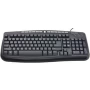 Gear Head™ KB3850MPU Wired USB Media Pro III Keyboard