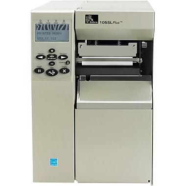 Zebra® 105SLPlus Thermal Transfer Monochrome Desktop Label Print With Peel US Cord