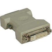 Tripp Lite® Dual Link DVI-D Male to DVI-I Female Adapter, Beige