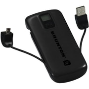 Brunton® Metal™ 4400 mAh Battery Power Adapter, Black