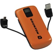 Brunton® Metal™ 4400 mAh Battery Power Adapter, Orange