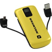 Brunton® Metal™ 4400 mAh Battery Power Adapter, Yellow