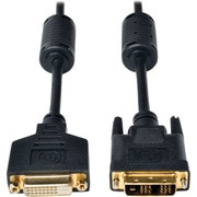 Tripp Lite® 6' DVI-D Female/Male Single Link TMDS Extension Cable, Black