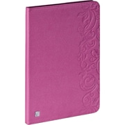 Verbatim 98528 Folio Expressions Case for Apple iPad Air, Floral Pink (98528)