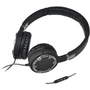 Gear Head™ Dynamic Bass Multimedia Over-the-Head Headphone With Microphone, Black