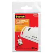 3M™ TP5852-10 Scotch Thermal Laminating Pouch With Clip, Clear