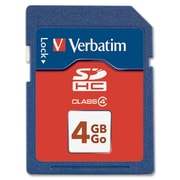 Verbatim® 4GB SDHC™ (Secure Digital High Capacity) Class 4 Flash Memory Card