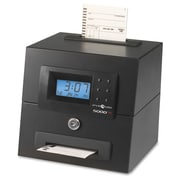 Pyramid 5000HD Heavy-Duty Auto Totalling Time Clock, Black