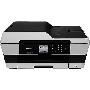Brother® Business Smart MFC-J6520DW Inkjet Multifunction Printer