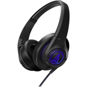 Audio-Technica® SonicFuel ATH-AX5BK Over-The-ear Headphone, Black