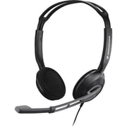 Sennheiser PC-230 Over-The-Head Binaural Headset, Black