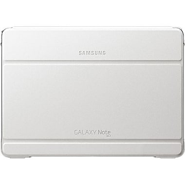 Samsung Book Cover Carrying Case For 10.1in. Tablet, White