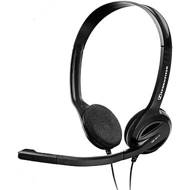 Sennheiser PC 31-II 504522 Wired Dual-Sided Headset, Black