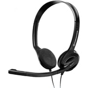 Sennheiser PC Series Over-The-Head Binaural Headset, Black