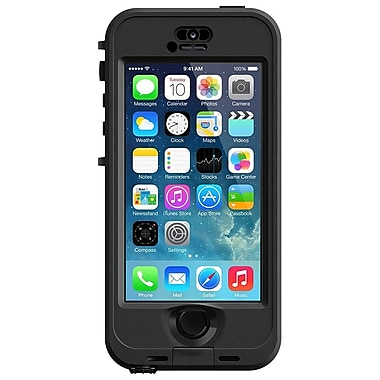 LifeProof® Nuud Case For iPhone 5S, Black/Smoke