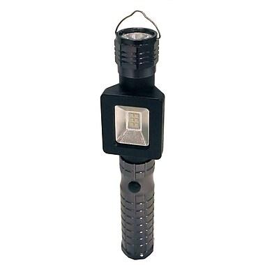 Shaxon LED 100 Lumens Dualite Flashlight/Worklight, Black
