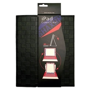 Shaxon SHX-IPC3-BK Folio Case with Velcro Holder for Apple iPad 2, Black