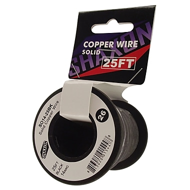 Shaxon 25' Solid Copper 14 AWG Wire On Spools