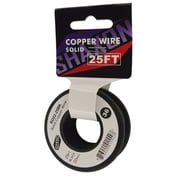 Shaxon 25' Solid Copper 22 AWG Wire On Spools
