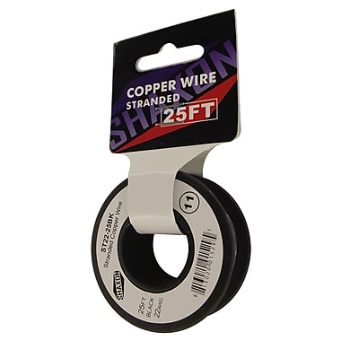 Shaxon 25' Stranded Copper 22 AWG Wire On Spools